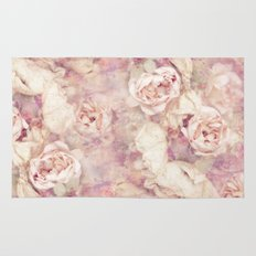 FADED ROSES Rug