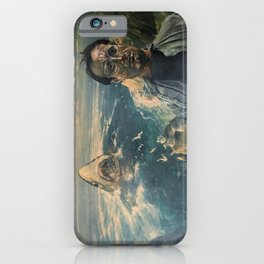 The Moment of Realization iPhone Case