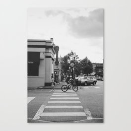Small Town Vibes Canvas Print