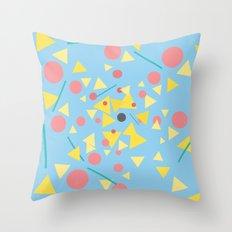 Chaos around you Throw Pillow