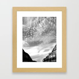 Canyon Sky Framed Art Print