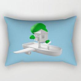 Tree House Boat Rectangular Pillow