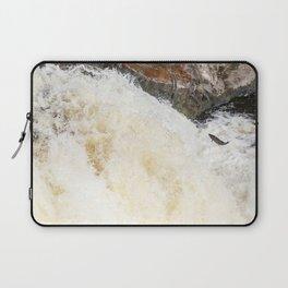 Leaping Atlantic salmon salmo salar Laptop Sleeve