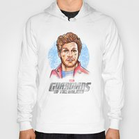 star lord Hoodies featuring Star Lord by Nicolaine
