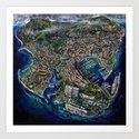 Monaco (oil on canvas) by antonioortiz