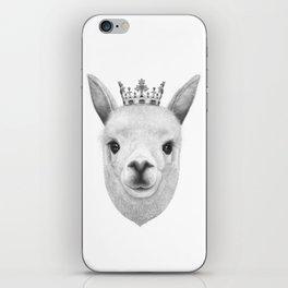 The King Lama iPhone Skin