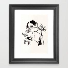 Those feelings Framed Art Print