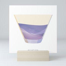 Cocktail Hour: Aviation Mini Art Print