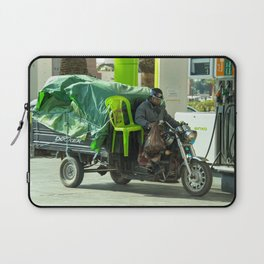 Come ride with me Laptop Sleeve