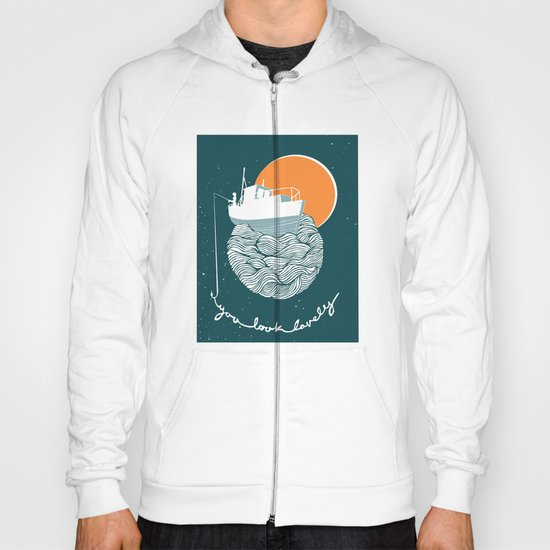 Fishing for Compliments Hoody