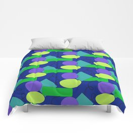 Lime & Blue Comforters
