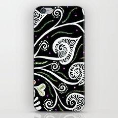 Night Blooming iPhone & iPod Skin