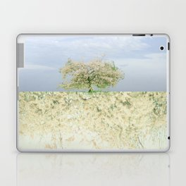 landscape 004c: 藍の空 (indigo sky) Laptop & iPad Skin