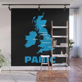 Panic Wall Mural
