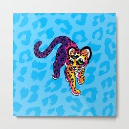 Oracular Leopard Cub Metal Print