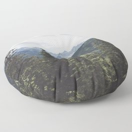 Tatra Mountains Floor Pillow