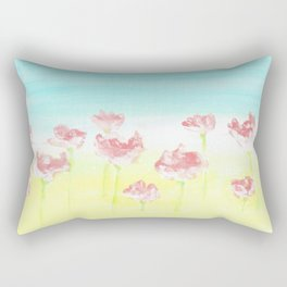 Flowers in the country Rectangular Pillow