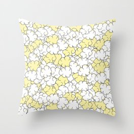 Movie Night Popcorn Throw Pillow