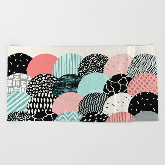 concentric Beach Towel