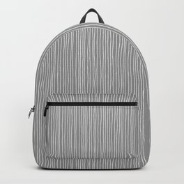 Platinum Lines Never Fail - Dark Gray Backpack