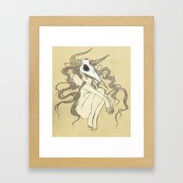 Where I Fit In Framed Art Print
