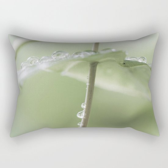 the art of peace Rectangular Pillow