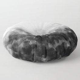 Ombre Smoke Clouds Minimal Floor Pillow