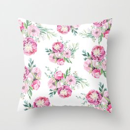 hurry spring Throw Pillow