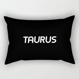 TAURUS (BLACK) Rectangular Pillow