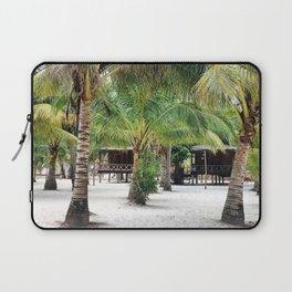 Bungalows on Palm Beach Laptop Sleeve