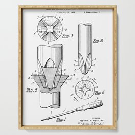 Phillips Screwdriver: Henry F. Phillips Screwdriver Patent Serving Tray