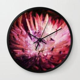 Flower Galaxy Wall Clock
