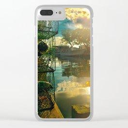 Colington Crabbers Clear iPhone Case