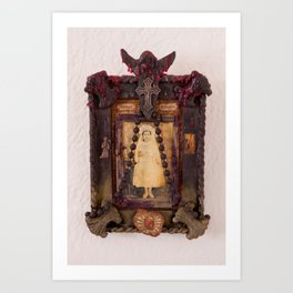 Sacred Heart Memorial Art Print