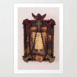Sacred Heart Memorial Art Print