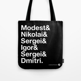 Russian Composers Tote Bag