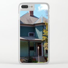 Stylish Old House Clear iPhone Case