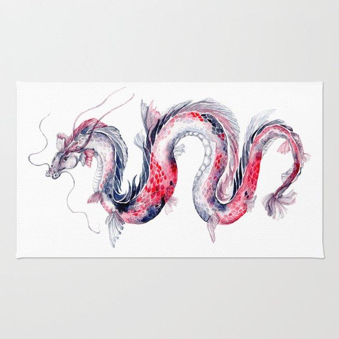 Koi Dragon Rug