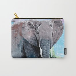 Animal - The big elephant - by LiliFlore Carry-All Pouch