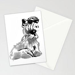 alf sunglasses Stationery Cards