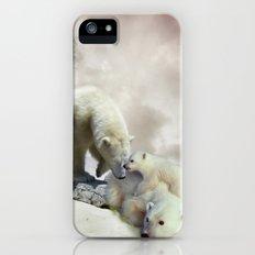 Polar Bears iPhone (5, 5s) Slim Case