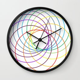 Spiranbow Graph Wall Clock