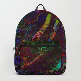 Magic neon Forest Backpack
