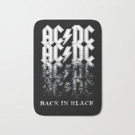 AC/DC - Back in Black Bath Mat