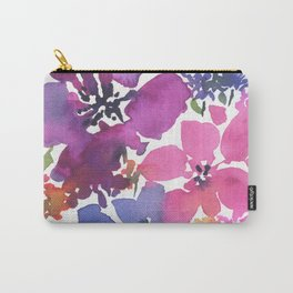 Pretty Poppy Patch Carry-All Pouch