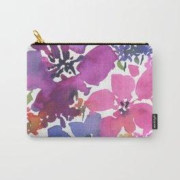 Pretty Poppy Patch Carry-All Pouch