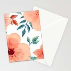 FLOWERS WATERCOLOR 2 Stationery Cards