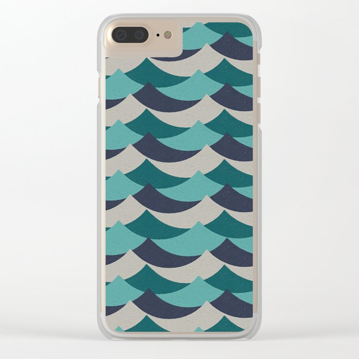 Waves Of Fun Clear iPhone Case