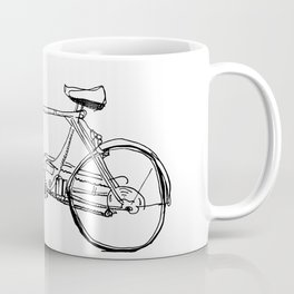 Cruiser Bicycle Coffee Mug