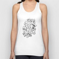 faces Tank Tops featuring Faces by Allison Kiloh